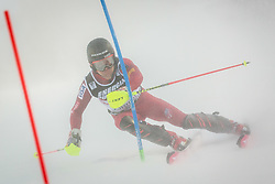 """Mark Engel (USA) during FIS Alpine Ski World Cup 2016/17 Men's Slalom race named """"Snow Queen Trophy 2017"""", on January 5, 2017 in Course Crveni Spust at Sljeme hill, Zagreb, Croatia. Photo by Ziga Zupan / Sportida"""