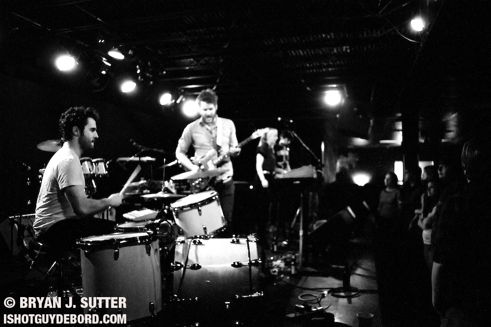 Athens, Georgia indie rockers Reptar brought hand holding and sweet tunes to The Firebird in Saint Louis on April 6th, 2012. Quiet Hooves and Née opened the show.