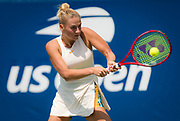 Marta Kostyuk of the Ukraine in action during the first qualification round at the 2018 US Open Grand Slam tennis tournament, New York, USA, August 21th 2018, Photo Rob Prange / SpainProSportsImages / DPPI / ProSportsImages / DPPI