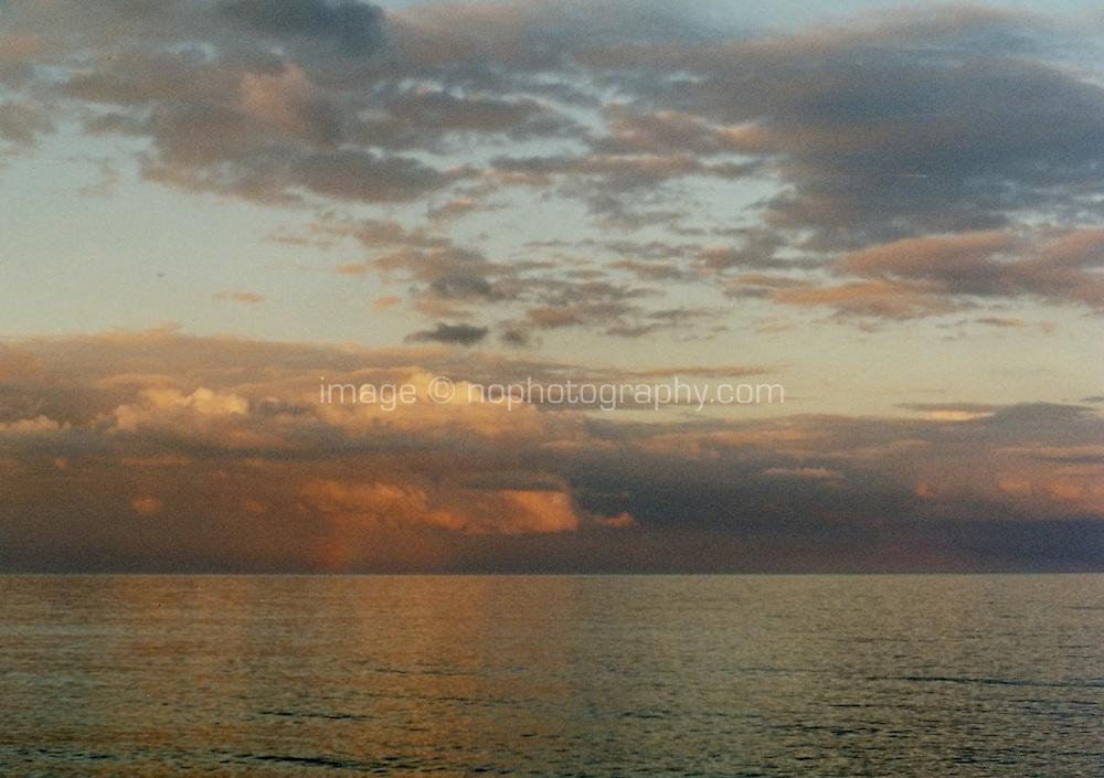 Sunset on Killiney Bay Dublin Ireland