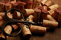 red wine corks - Photograph by Oaen Franken