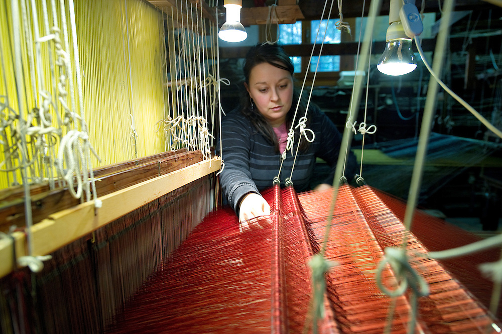 Venice Tessitura Bevilacqua hand wowen velvets made on XVIII century looms..HOW TO BUY THIS PICTURE: please contact us via e-mail at sales@xianpix.com or call our offices in Milan at (+39) 02 400 47313 or London   +44 (0)207 1939846 for prices and terms of copyright..