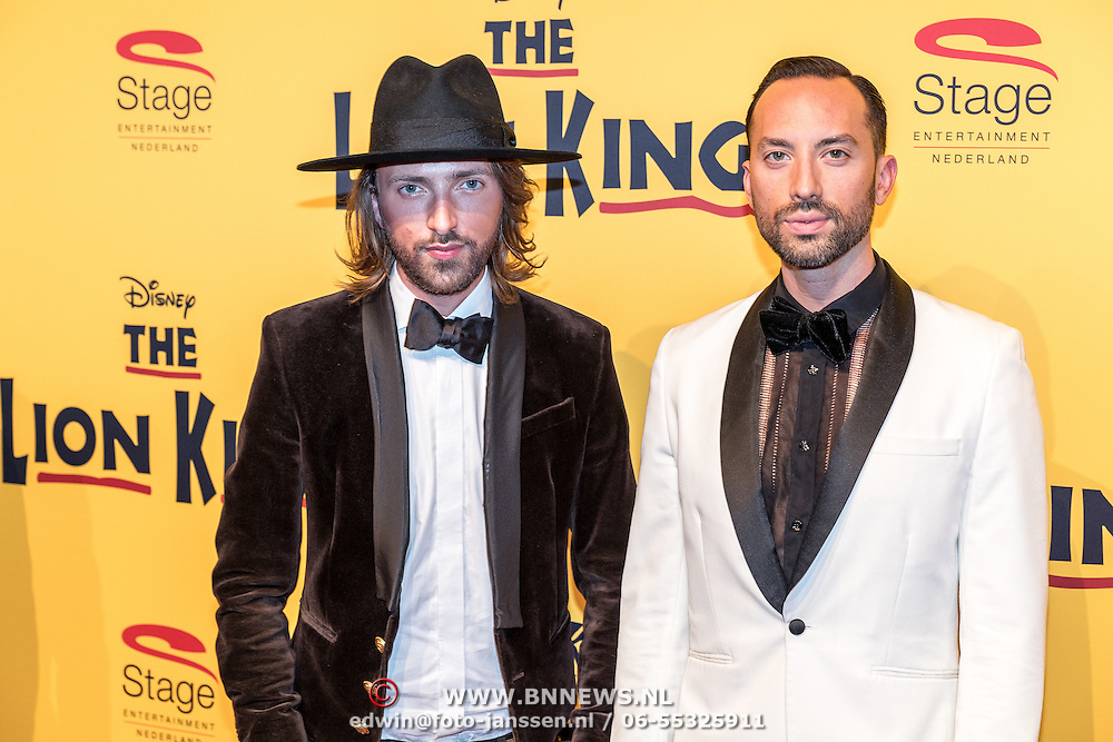 NLD/Scheveningen/20161030 - Premiere musical The Lion King, Tommie Driessen en ..............