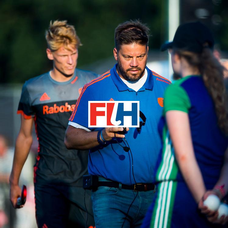 BREDA - bondscoach Max Caldas (Ned)   tijdens Nederland- Australie bij  de Hockey Champions Trophy. COPYRIGHT KOEN SUYK