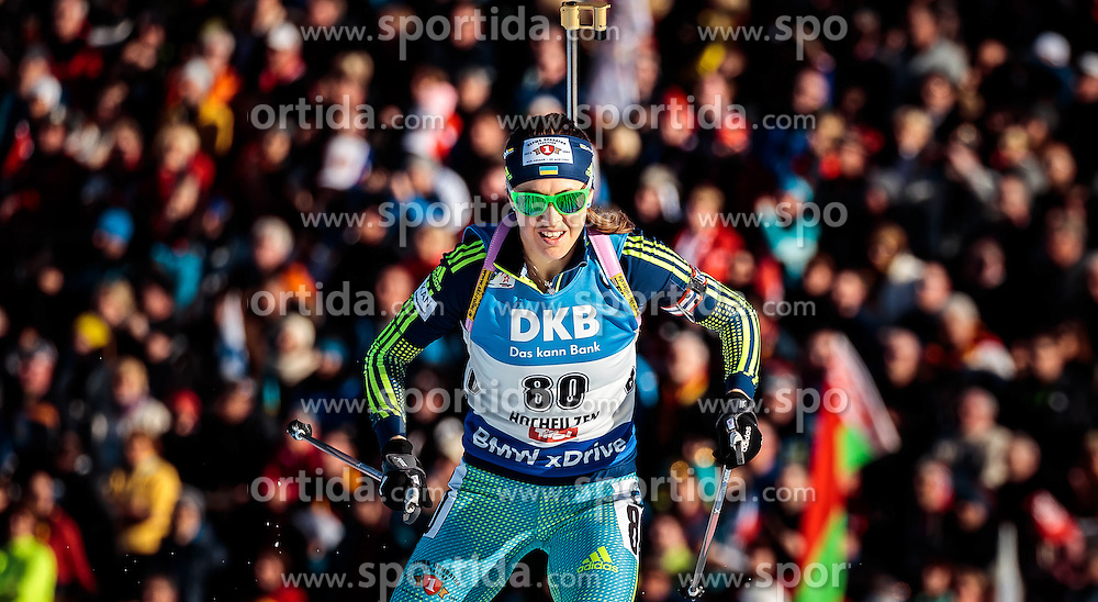 15.02.2017, Biathlonarena, Hochfilzen, AUT, IBU Weltmeisterschaften Biathlon, Hochfilzen 2017, Damen, Einzel, im Bild Yuliia Dzhima (UKR) // Yuliia Dzhima of Ukraine // during individual women the IBU Biathlon World Championship at the at the Biathlonarena in Hochfilzen, Austria on 2017/02/15. EXPA Pictures © 2017, PhotoCredit: EXPA/ JFK