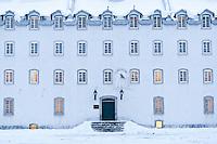 The Historic District of Old Québec, and UNESCO World Heritage site during winter. Québec, Québec, Canada. January 2012. © Allen McEachern.