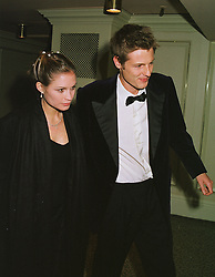 MISS SHEHERAZADE VENTURA and her fiance MR ZAC GOLDSMITH son of the late Sir James Goldsmith, at a dinner in London on 23rd February 1999.MOR 64