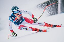 25.01.2020, Streif, Kitzbühel, AUT, FIS Weltcup Ski Alpin, Abfahrt, Herren, im Bild Niels Hintermann (SUI) // Niels Hintermann of Switzerland in action during his run for the men's downhill of FIS Ski Alpine World Cup at the Streif in Kitzbühel, Austria on 2020/01/25. EXPA Pictures © 2020, PhotoCredit: EXPA/ JFK
