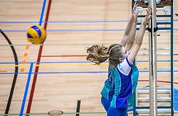 18-03-2017 NED:  Finale NOJK B finalisten, Doetinchem<br /> De B-teams waren de finaledag actief in Doetinchem, waar zij in het Topsportcentrum sportief zullen uitvechten wie zich het komende jaar Nederlands kampioen mag gaan noemen / Flamingo's