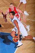 DESCRIZIONE : Bormio Torneo Internazionale Maschile Diego Gianatti Italia Polonia <br /> GIOCATORE : Massimo Bulleri <br /> SQUADRA : Nazionale Italia Uomini Italy <br /> EVENTO : Raduno Collegiale Nazionale Maschile <br /> GARA : Italia Polonia Italy Poland <br /> DATA : 31/07/2008 <br /> CATEGORIA : Palleggio <br /> SPORT : Pallacanestro <br /> AUTORE : Agenzia Ciamillo-Castoria/S.Silvestri <br /> Galleria : Fip Nazionali 2008 <br /> Fotonotizia : Bormio Torneo Internazionale Maschile Diego Gianatti Italia Polonia <br /> Predefinita :