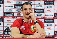 Rugby Union - 2017 British & Irish Lions Tour to New Zealand - Squad & Captain Announcement Press Conference<br /> <br /> Lions Captain , Sam Warburton talks to the press at the Hilton Syon Park, London.<br /> <br /> COLORSPORT/ANDREW COWIE