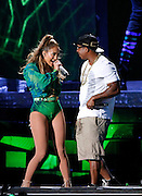 Jennifer Lopez and Ja Rule perform for the State Farm Neighborhood Sessions at Orchard Beach in The Bronx, New York on June 04, 2014. Photo by Donna Ward/ABACAUSA.COM