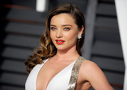 Miranda Kerr in attendance for 2015 Vanity Fair Oscar Party Hosted By Graydon Carter at Wallis Annenberg Center for the Performing Arts on February 22, 2015 in Beverly Hills, California. EXPA Pictures © 2015, PhotoCredit: EXPA/ Photoshot/ Dennis Van Tine<br /> <br /> *****ATTENTION - for AUT, SLO, CRO, SRB, BIH, MAZ only*****