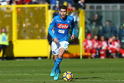 January 21, 2018 - Bergamo, Italy - Jorginho of Napoli  during the Italian Serie A football match Atalanta Vs Napoli on January 21, 2018 at the 'Atleti Azzurri d'Italia Stadium' in Bergamo. (Credit Image: © Matteo Ciambelli/NurPhoto via ZUMA Press)