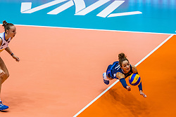 06-06-2018 NED: Volleyball Nations League Netherlands - Italy, Rotterdam<br /> Monica De Gennaro #6 of Italy