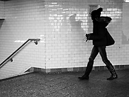 Times Square Subway station, New York City.