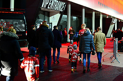 Bristol City fans arrive for the Carabao cup game against Manchester United - Mandatory by-line: Dougie Allward/JMP - 20/12/2017 - FOOTBALL - Ashton Gate Stadium - Bristol, England - Bristol City v Manchester United - Carabao Cup Quarter Final