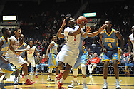 "Ole Miss guard Martavious Newby (1) vs. Southern at the C.M. ""Tad"" Smith Coliseum in Oxford, Miss. on Thursday, November 20, 2014. (AP Photo/Oxford Eagle, Bruce Newman)"