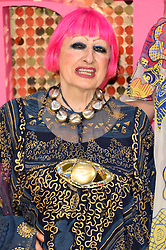 © Licensed to London News Pictures. 29/06/2016. ZANDRA RHODES attends the ABSOLUTELY FABULOUS world film premiere. London, UK. Photo credit: Ray Tang/LNP