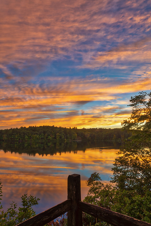 Massachusetts sunset photography from Wellesley College at Lake Waban in Wellesley Massachusetts. This Massachusetts lake with Wellesley College nearby are inspiring and make for a beautiful New England nature photography location to visit and to get lost with a camera.<br /> <br /> Lake Waban sunset photos are available as museum quality photo, canvas, acrylic, wood or metal prints. Wall art prints may be framed and matted to the individual liking and wall art décor project needs:<br /> <br /> https://juergen-roth.pixels.com/featured/wellesley-college-sunset-juergen-roth.html<br /> <br /> Good light and happy photo making!<br /> <br /> My best,<br /> <br /> Juergen<br /> Photo Prints & Licensing: http://www.rothgalleries.com<br /> Photo Blog: http://whereintheworldisjuergen.blogspot.com<br /> Instagram: https://www.instagram.com/rothgalleries<br /> Twitter: https://twitter.com/naturefineart<br /> Facebook: https://www.facebook.com