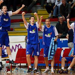 20110413: SLO, Basketball - Telemach League, KK Geoplin Slovan vs Zlatorog Lasko