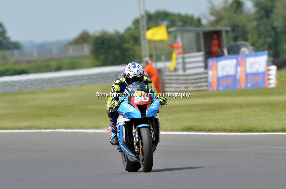 #20 David Johnson PR Racing Kawasaki Superstock 1000