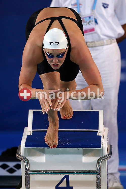 Jeanette OTTESEN GRAY of Denmark competes in the women's 50m Butterfly Heats during the 16th European Short Course Swimming Championships held at the aquatic complex L'Odyssee in Chartres, France, Friday, Nov. 23, 2012. (Photo by Patrick B. Kraemer / MAGICPBK)