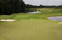 SPIJK - Hole 17 van The Dutch .   Golfbaan THE DUTCH, waar het KLM Open in september 2016 zal worden gehouden. COPYRIGHT KOEN SUYK