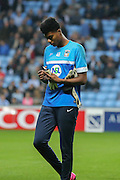 Coventry City goalkeeper Reice Charles-Cook during the Sky Bet League 1 match between Coventry City and Southend United at the Ricoh Arena, Coventry, England on 31 August 2015. Photo by Simon Davies.
