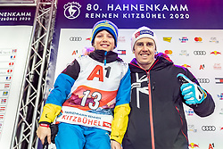 25.01.2020, Streif, Kitzbühel, AUT, FIS Weltcup Ski Alpin, Slalom, Herren, Startnummernauslosung, im Bild Dave Ryding (GBR) // Dave Ryding of United Kingdom during the draw of starting numbers for the men's Slalom of FIS Ski Alpine World Cup at the Streif in Kitzbühel, Austria on 2020/01/25. EXPA Pictures © 2020, PhotoCredit: EXPA/ Johann Groder