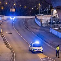 Kristiansand  20161127.<br /> Mann skutt og drept  av politiet natt til s&oslash;ndag.  <br /> Foto: Tor Erik Schr&oslash;der / NTB scanpix