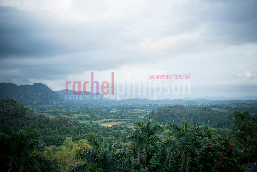 Cuba, Viñales, landscape, mountain view