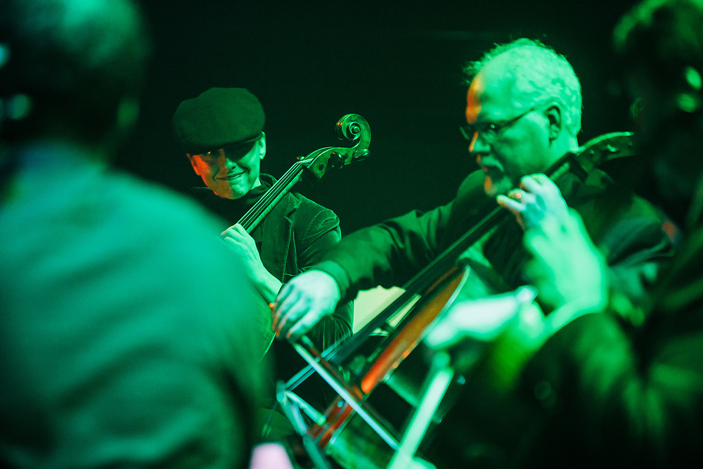 Portland Cello Project - Radiohead's OK Computer 20th anniversary show at Revolution Hall - November 25, 2017. Photo by Jason Quigley
