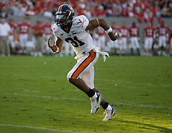 Virginia wide receiver Dontrelle Inman (81)..The North Carolina State Wolfpack defeated the #15 Virginia Cavaliers 29-24 at Carter Finley Stadium in Raleigh, NC on October 27, 2007.