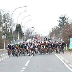 25-02-2017: Wielrennen: Vrouwen Omloop Het Nieuwsblad: Gent <br />GENT (BEL) wielrennen  <br />Peloton