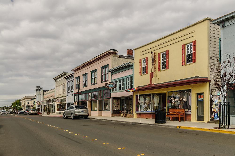 Street, Fort Bragg, California