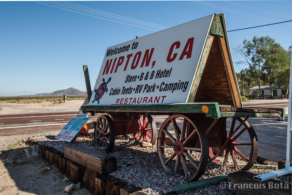 Nipton, California. Historical Goldmining town sold to American Green for $5 Million