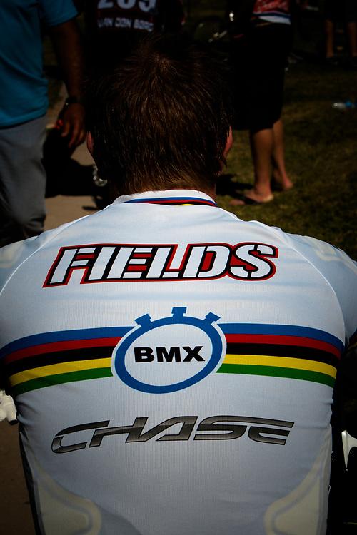 # 11 (FIELDS Connor) USA at the UCI BMX Supercross World Cup in Santiago del Estero, Argintina.