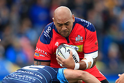 Soane Tonga'uiha of Bristol Rugby in action - Mandatory by-line: Ian Smith/JMP - 20/08/2016 - RUGBY - BT Sport Cardiff Arms Park - Cardiff, Wales - Cardiff Blues v Bristol Rugby - Pre-season friendly