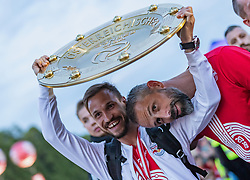 26.05.2019, Schloss Klessheim, Salzburg, AUT, 1. FBL, FC Red Bull Salzburg Meisterfeier, im Bild v.l.: Andreas Ulmer (FC Red Bull Salzburg), Trainer Marco Rose (FC Red Bull Salzburg) // during the Austrian Football Bundesliga Championsship Celebration at the Schloss Klessheim in Salzburg, Austria on 2019/05/26. EXPA Pictures © 2019, PhotoCredit: EXPA/ JFK