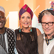 NLD/Amsterdam/20170930 - Orange Babies Gala 2017, John Kattenberg, Mickey Hoogendijk, Baba Sylla