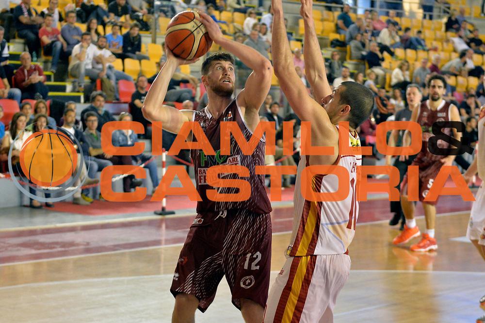 Matteo Imbro<br /> Unicusano Virtus Roma - FMC Ferentino<br /> Campionato Basket LNP 2016/2017<br /> Roma 15/04/2017<br /> Foto M.Ceretti / Ciamillo-Castoria