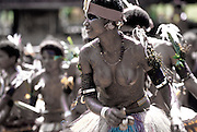 Dancer, Kitava, Trobriands, Papua New Guinea<br />