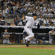 A batting sequence of Derek Jeter, New York Yankees, showing his batting swing in sequence during the New York Yankees V New York Mets, Subway Series game at Yankee Stadium, The Bronx, New York. 12th May 2014. Photo Tim Clayton