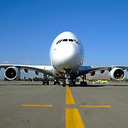 A380 el avi&oacute;n comercial m&aacute;s grande del mundo<br /> Cliente: Sipa Press Francia