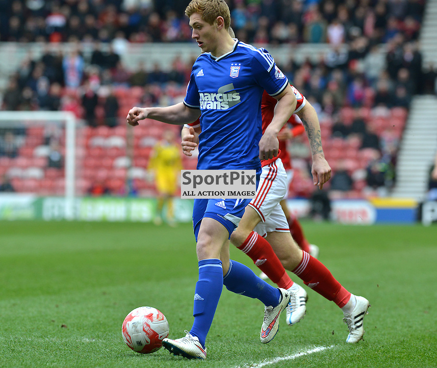 Teddy Bishop of the Tractor Boys in action against Middlesborough...(c) BILLY WHITE | SportPix.org.uk