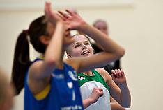 20120411 Værløse Basketball, U16 piger