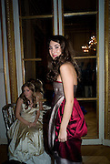 VICTORIA DE SILVA, The 2008 Crillon Debutante Ball. Getting Ready the Day before. Crillon Hotel. Paris. 29 November 2008. *** Local Caption *** -DO NOT ARCHIVE-© Copyright Photograph by Dafydd Jones. 248 Clapham Rd. London SW9 0PZ. Tel 0207 820 0771. www.dafjones.com.