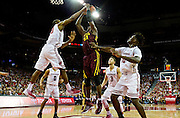 Center Bakary Konaté (21) during the second half of the University of Minnesota Men's Basketball game versus University of Wisconsin on March 5, 2017.