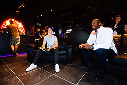 Callum O'Dowda in action as Bristol City players visit the Belong by GAME gaming arena to play the new FIFA 18 - Rogan/JMP - 27/09/2017 - Merchant Street - Bristol, England.